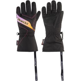 Roeckl Alba Handschuhe Kids schwarz/pink